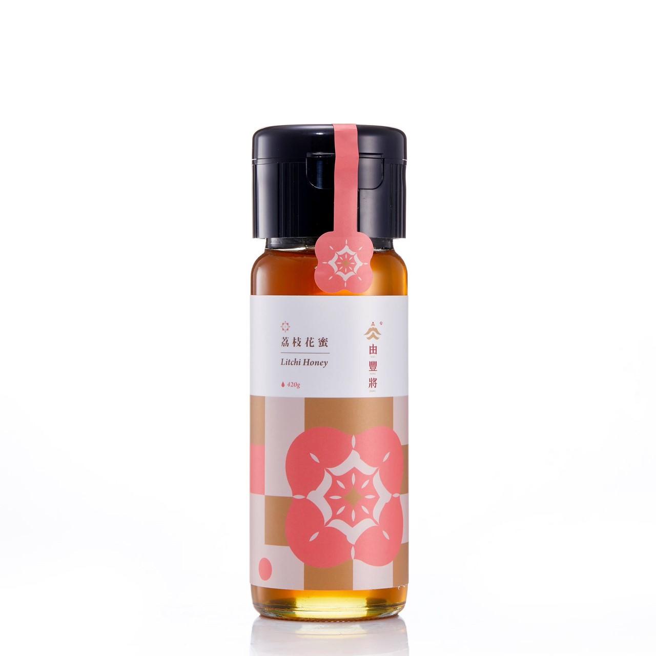 【由豐將】100%台灣蜂蜜-楊貴妃特愛的荔枝花蜜 420g(小)