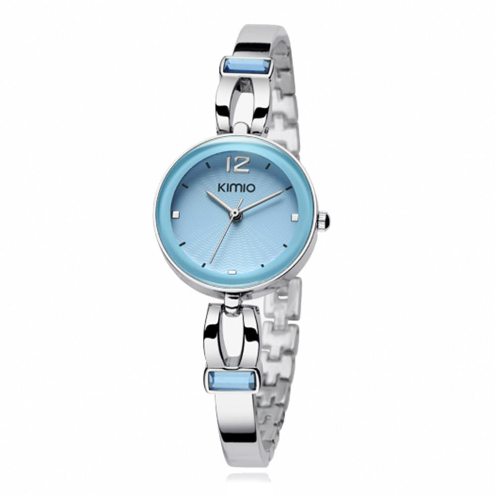 KIMIO 金米歐 K-466 簡約時尚氣質百搭圓款手鍊女錶 2