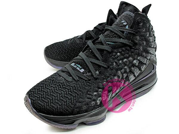 2019-2020 NBA 最新款 LeBRON JAMES 最新代言 NIKE LEBRON XVII EP 17 BLACK 全黑 全新 KNITPOSITE 飛織鞋面 前 15mm ZOOM MAX AIR 後 MAX AIR 氣墊 小皇帝 雷霸龍 KING LAKERS 頂級科技 籃球鞋 (BQ3178-001) 1119 1