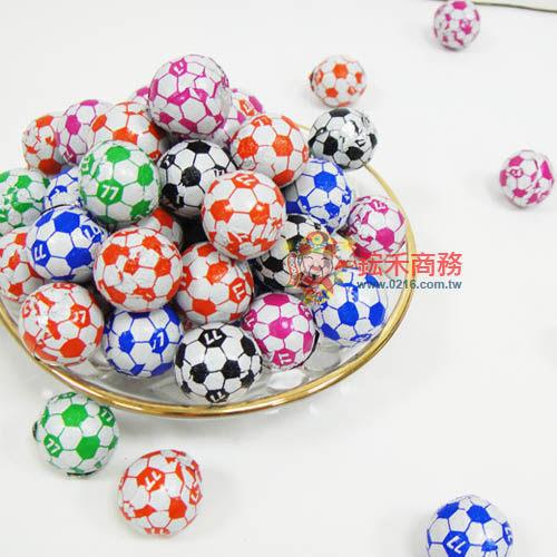 【0216零食會社】77 足球巧克力/哈哈球巧克力