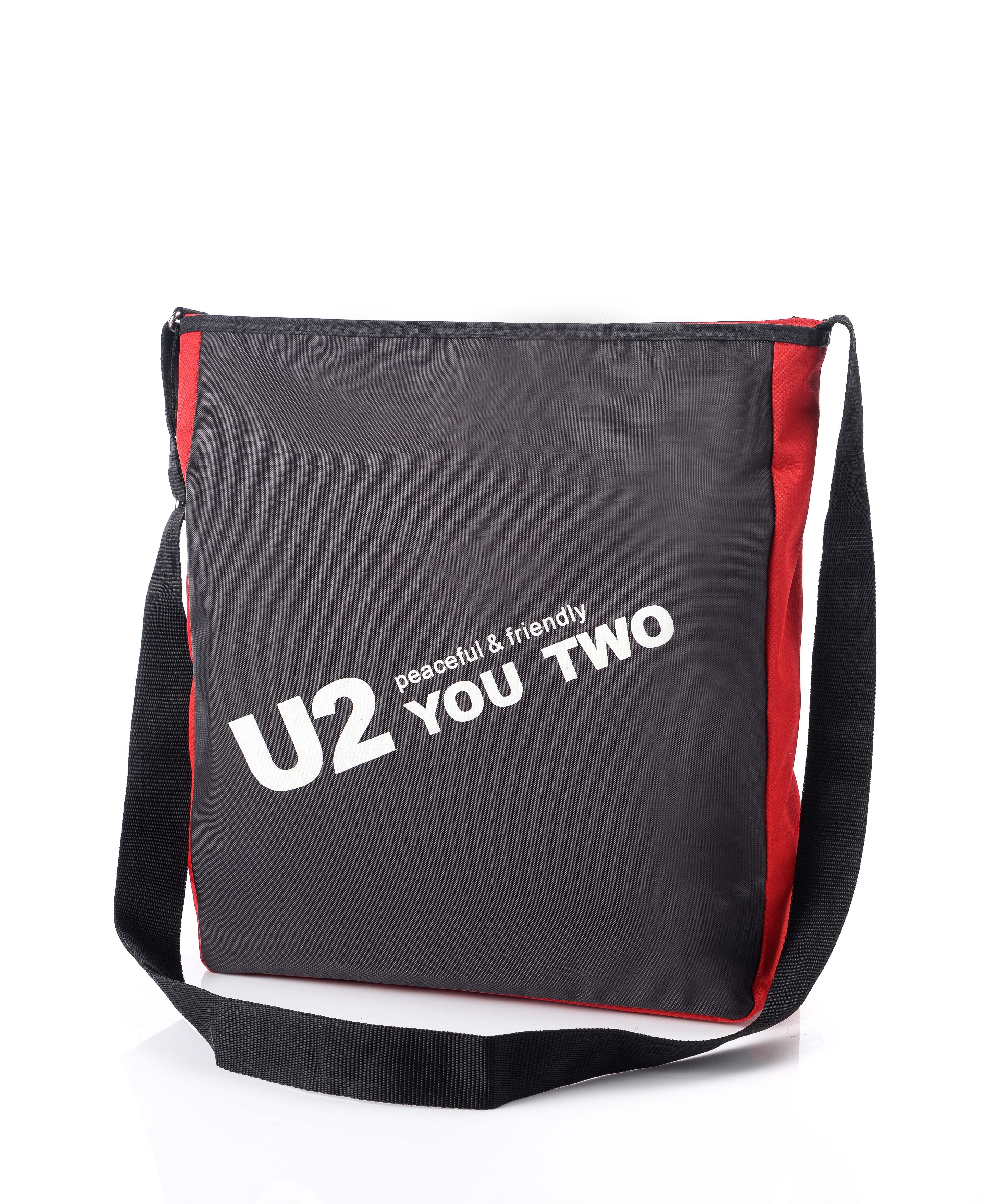 防潑水極簡約側背包/肩背包/學生背包/戶外背包/MIT/台灣製【U2 Bags】【兩色】