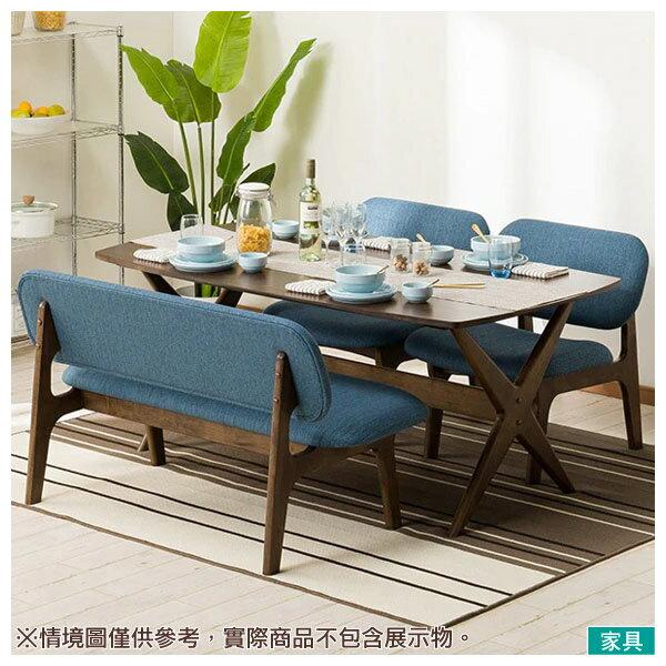 ◎橡膠木質餐桌椅四件組 RELAX 160 MBR / TBL NITORI宜得利家居 0
