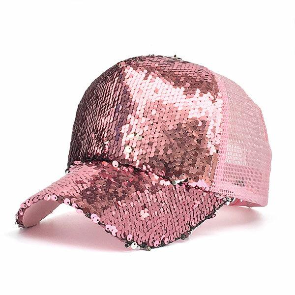 老帽-閃耀亮片棒球帽-2048- J II