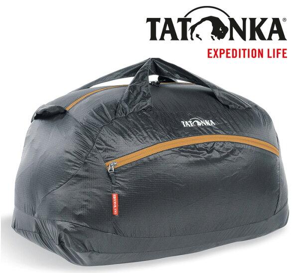 【TATONKA德國】SQUEEZYDUFFLEM旅行袋旅行裝備袋旅行收納袋黑色〈容量50L〉/TTK2202