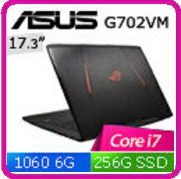 【2016.11 華碩GTX1060顯卡】ASUS GL702VM-0051A6700HQ  17.3吋家用電競筆電 i7-6700HQ/16G/1TB/256G/GTX1060/WIN10