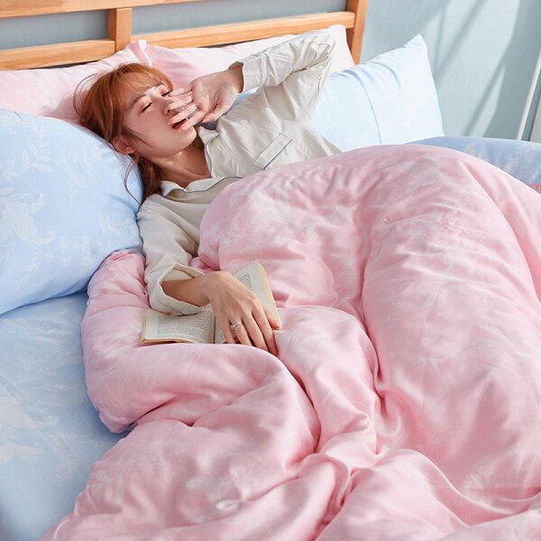 床包單人-100%純天絲【夏綠蒂】40支天絲,含一件枕套,戀家小舖
