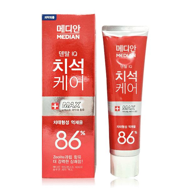 韓國Median86%強效淨白去垢牙膏-綠茶