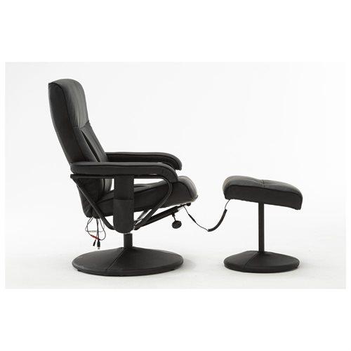 MCombo Electric wOttoman PU Leather TV Recliner Massage