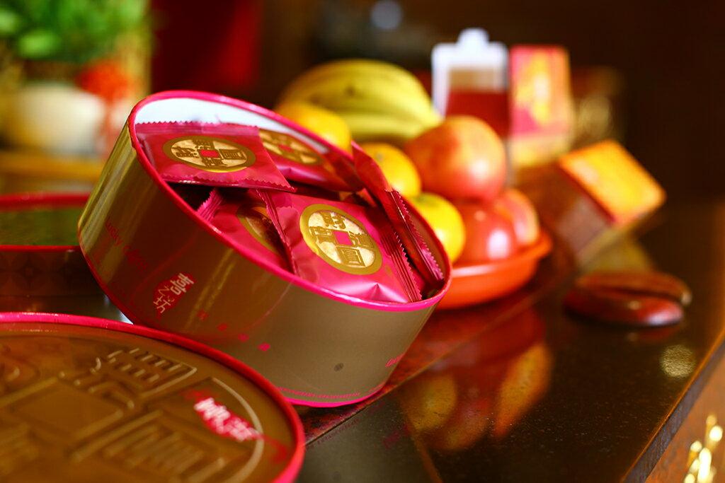 【喜之坊】圓片牛軋糖500gx1盒+牛軋糖夾心餅x2盒!!免運組 6