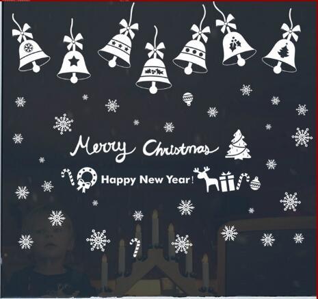 WallFree窩自在★聖誕款DIY無痕壁貼/牆貼-聖誕鈴鐺-SK6011
