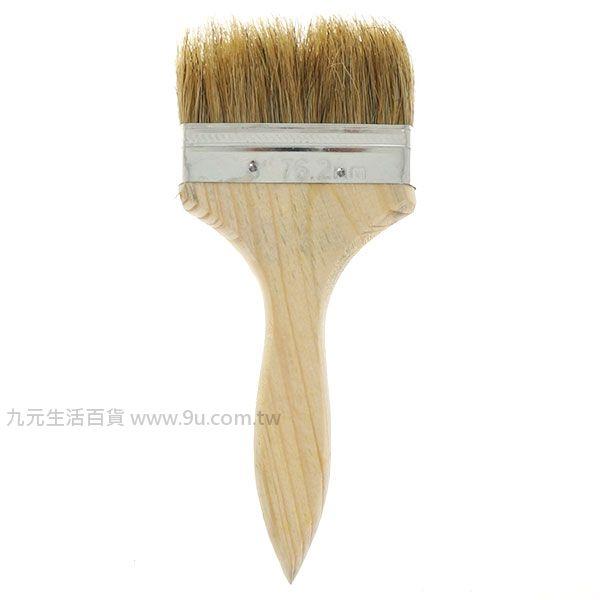 【九元生活百貨】3吋油漆刷 木柄刷