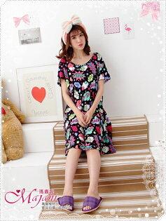 [瑪嘉妮Majani]中大尺碼睡衣-棉質居家服 睡衣 舒適好穿 寬鬆 有特大碼 特價299元 sp-260
