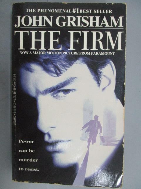 【書寶 書T1/原文小說_NSW】The Firm_John Grisham