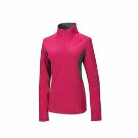 【【蘋果戶外】】山林21P38-34深桃紅Mountneer女透氣排汗長袖上衣吸濕排汗衣防曬抗UV彈性