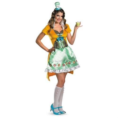 Sexy Mad Hatter Adult Halloween Costume 0