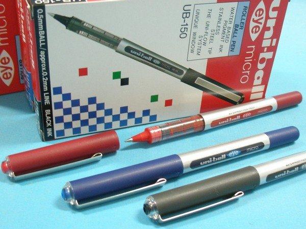 UNI三菱鋼珠筆 UB~150 全液式耐水性鋼珠筆0.5mm 一小盒12支入^~定45^~