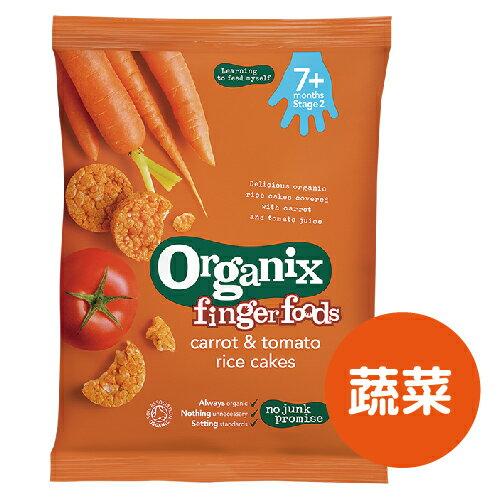 英國【Organix】有機嬰兒米餅50g(蔬菜)