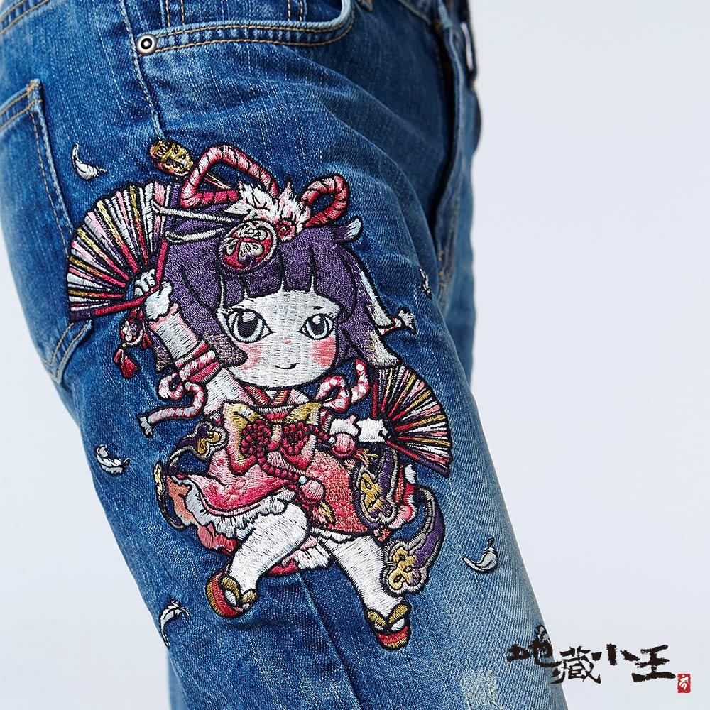 【專櫃新品】金魚姬舞扇羽毛男友褲(亮藍) - BLUE WAY  JIZO 地藏小王 3