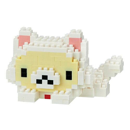 《NanoBlock迷你積木》NBCC-052牛奶熊悠閒的貓咪