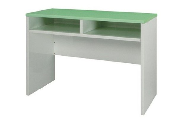 石川家居:【石川家居】932-17(綠白色)書桌(CT-408)#訂製預購款式#環保塑鋼P無毒防霉易清潔