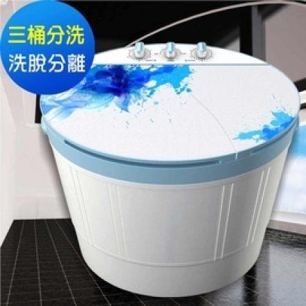 <br/><br/>  免運費 ZANWA晶華 4KG三桶分洗花漾洗衣機/脫水機/洗滌機 ZW-178D<br/><br/>