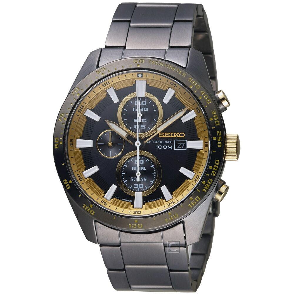SEIKO Criteria勁速交鋒計時腕錶 V176-0AV0K SSC659P1 0