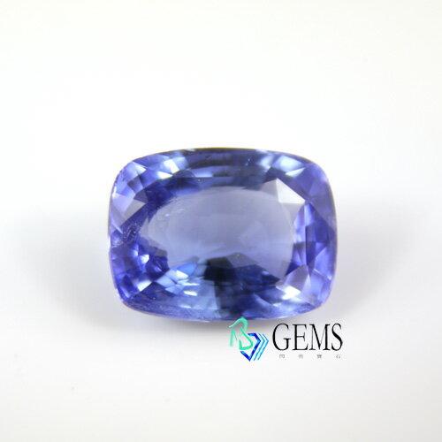 (售出)天然藍寶石 5.01克拉 附國際GRS寶石鑑定證書 Radiant Gems閃亮寶石