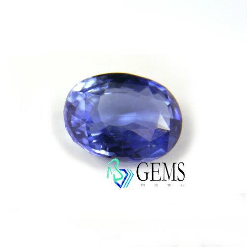 (售出)天然藍寶石 5.15克拉 附國際GRS寶石鑑定書 Radiant Gems閃亮寶石