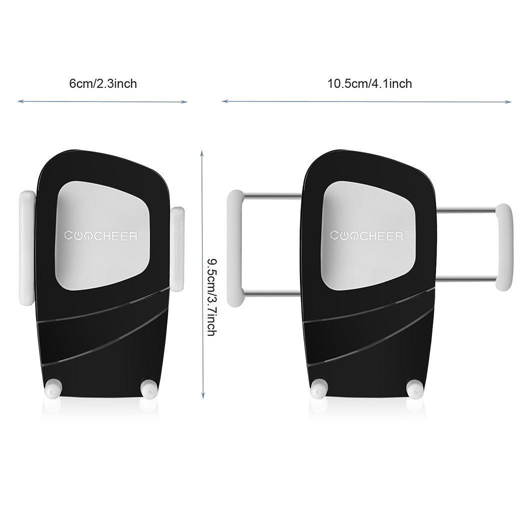 Air Vent Dashboard Windshiled Mount Car Smartphone Holder Mount Black Color 4
