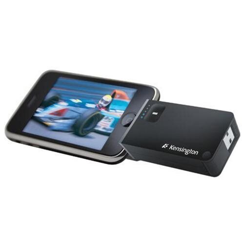 Kensington Travel Battery Pack and Charger for iPhone & iPod Touch - K33456US 1