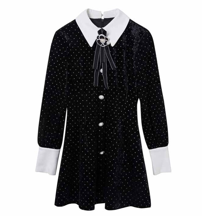 【領券折120】名媛小香風宮廷洋裝 #453