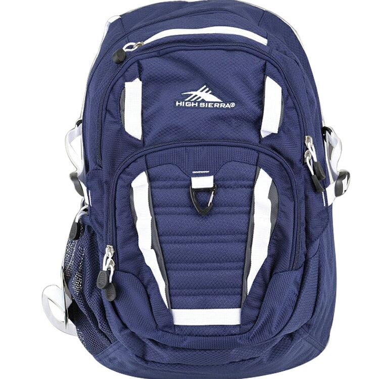 HIGH SIERRA美國戶外運動用品Ryler Backpack 可收納17吋筆電後背包新秀麗Samsonite副牌-深藍-H04-ZU059 【禾雅】
