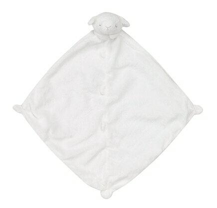 ★衛立兒生活館★Angel Dear 動物嬰兒安撫巾(白色小羊)#1148