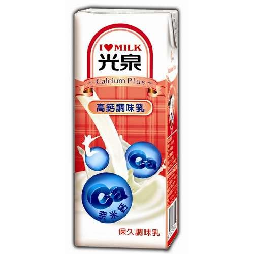 光泉 保久調味乳-高鈣調味乳 200ml (6入)/組【康鄰超市】