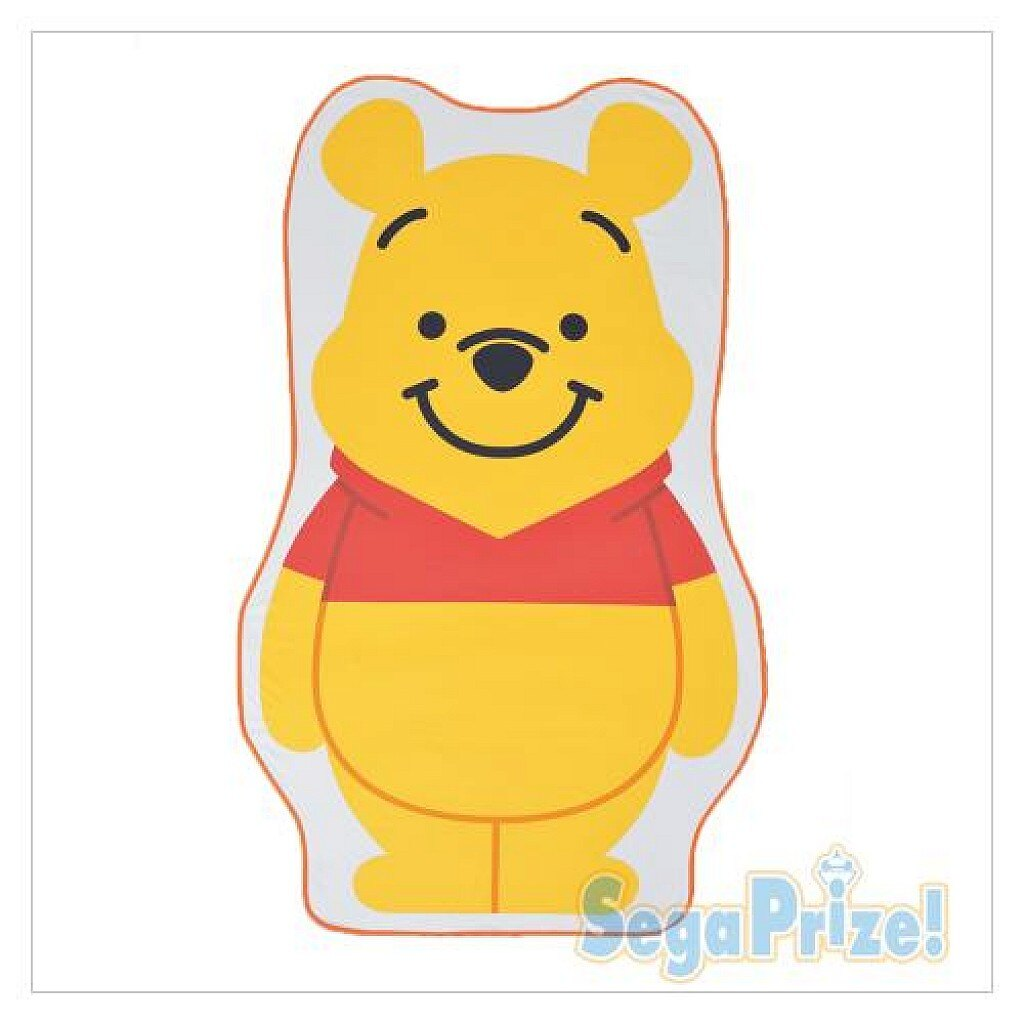 【真愛日本】18032200012 日本限定造型收納毯-PH 迪士尼 小熊維尼 冷氣毯 毛毯 日本 景品
