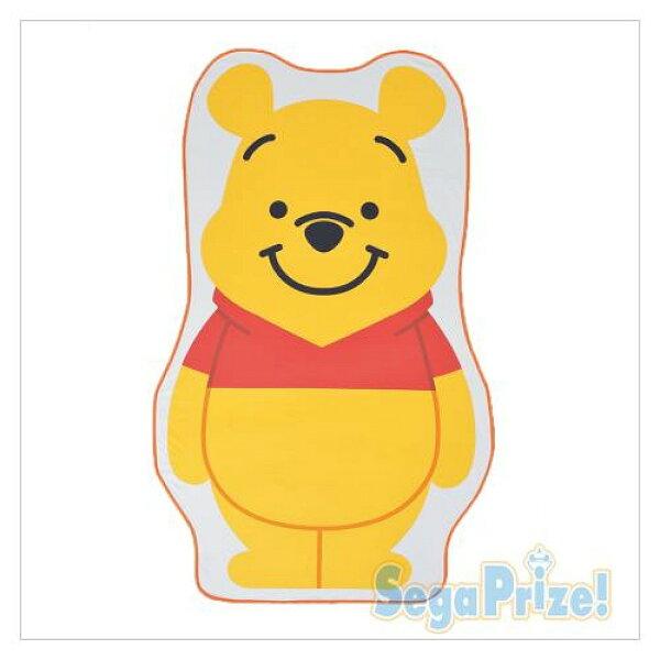 【真愛日本】18032200012日本限定造型收納毯-PH迪士尼小熊維尼冷氣毯毛毯日本景品