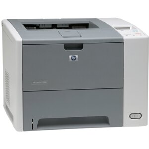 HP LaserJet P3000 P3005 Laser Printer - Monochrome - 1200 x 1200 dpi Print - Plain Paper Print - Desktop - 35 ppm Mono Print - Letter, Legal, Executive, Custom Size - 200 sheets Standard Input Capacity - 100000 Duty Cycle - Manual Duplex Print - USB 4