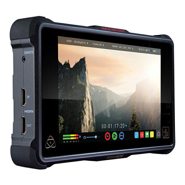 ◎相機專家◎ATOMOSNinjaInferno單機版4K7吋監視記錄器支援3DLUT正成公司貨