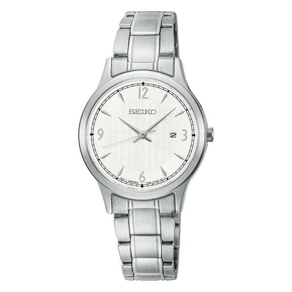 Seiko精工錶7N82-0JN0S(SXDG93P1)城市時尚CS系列氣質腕錶銀*白面29mm
