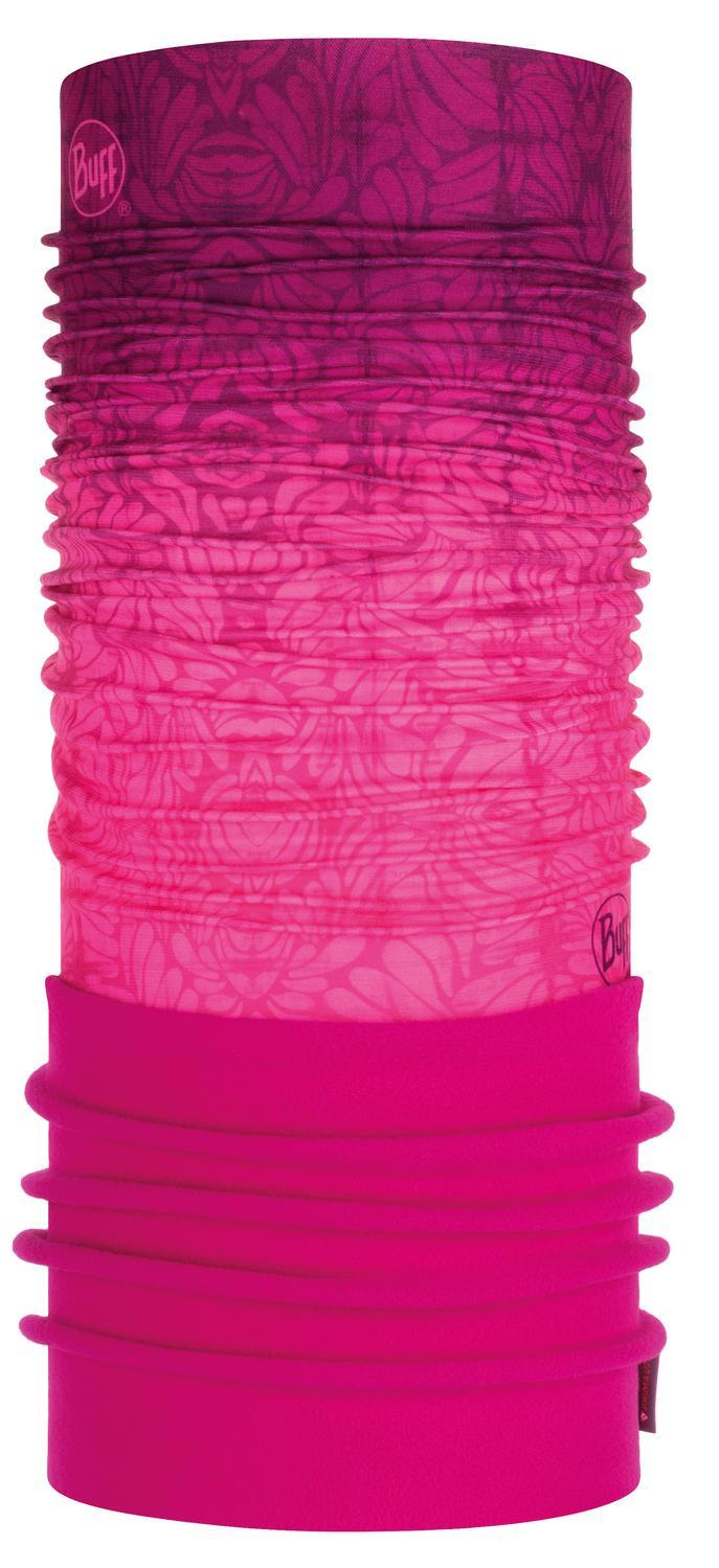【【蘋果戶外】】BUFF BF120899 西班牙 NEW 魔術頭巾 POLAR【二段式】保暖頭巾 番紅之戀 PLUS 圍脖