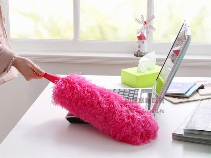 約翰家庭百貨》【CA190】超細纖維可彎曲除塵撣子 雞毛撢子 汽車撣 櫥櫃清潔 隨機出貨