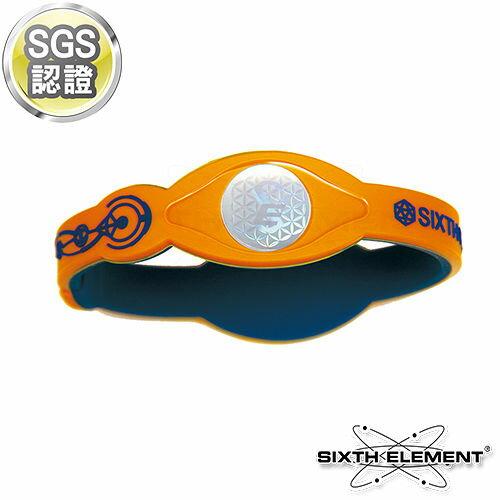 第六元素IEB負離子高能量手環 521 藍橘藍【AA05015】i-Style居家生活