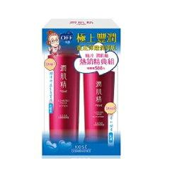 【高絲KOSE】精淬 潤肌精 保濕化妝水200ml+高保濕乳液150ml  效期2020.07 【淨妍美肌】