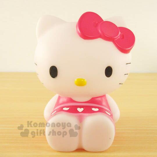 〔小禮堂〕Hello Kitty 造型筆筒《粉.坐姿.洋裝》超可愛桌面擺飾