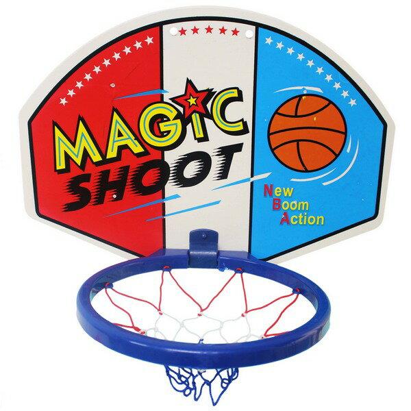 兒童中大籃球板 + 球(塑膠面板)NO.1007C/一組入{促180} 籃球框 投籃板 ST安全玩具 46cm x 33cm~創B-1007C