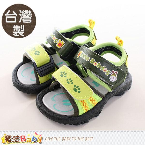 男童鞋 台灣製BOB DOG正版兒童涼鞋 魔法Baby~sh9766