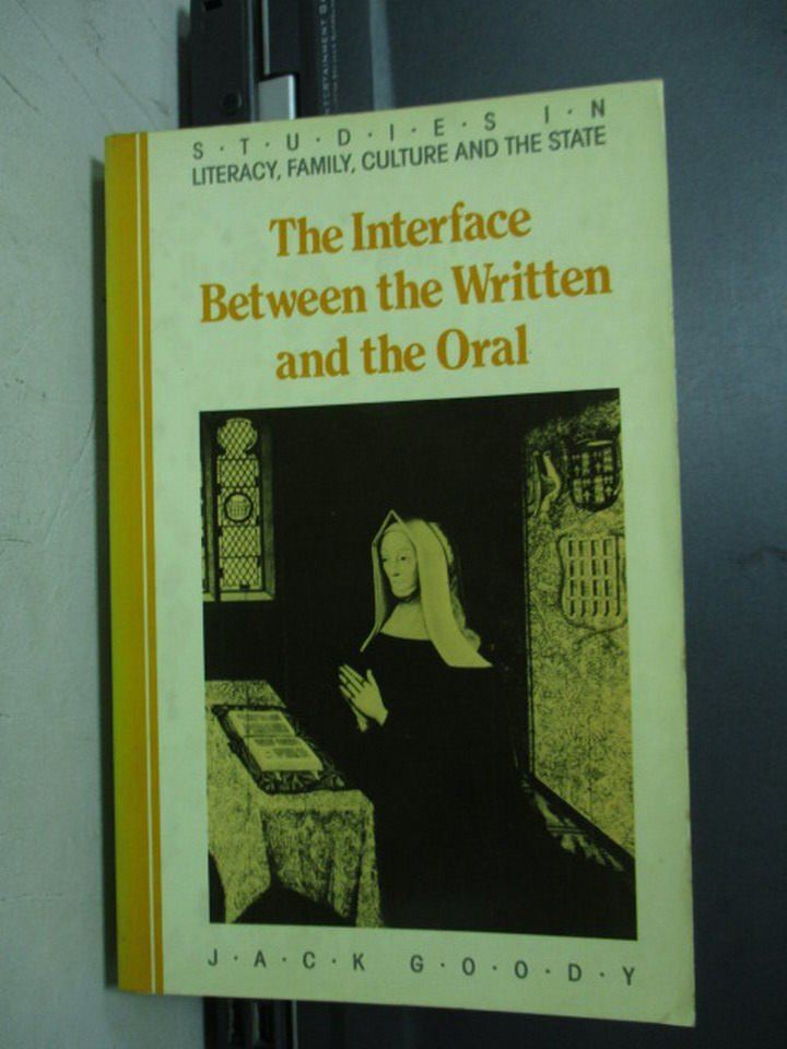 【書寶二手書T4/原文小說_NAC】The interface between…Oral
