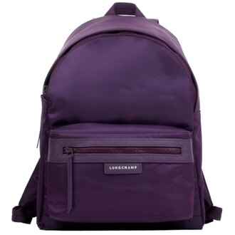 【LONGCHAMP】 LE PLIAGE NEO 系列 後背包 - 深紫