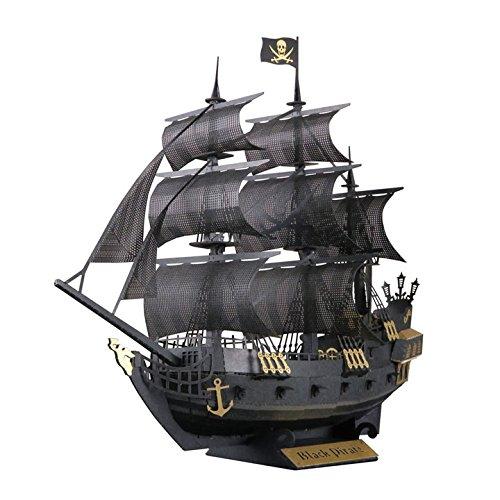 《Papernano》紙拼圖PN-124海盜船