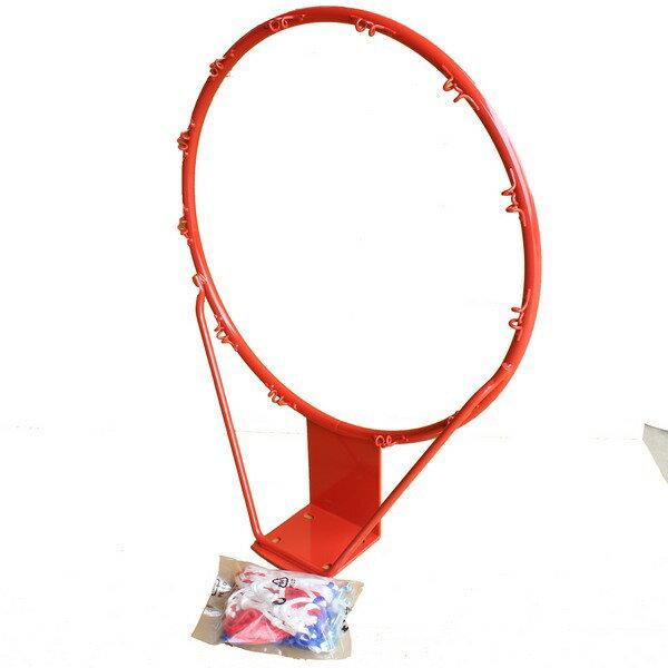標準籃球框+籃球網5分鐵大籃框投籃框一件4組入{定1000}台灣製造~群